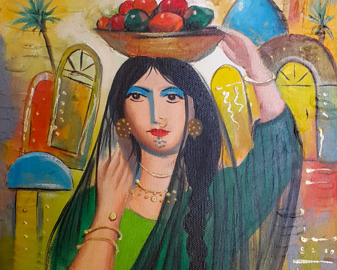How To Describe A Painting Baghdad Art Gallery Original