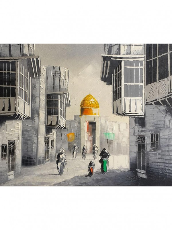 To a Saint – 45 x 35 cm Original painting