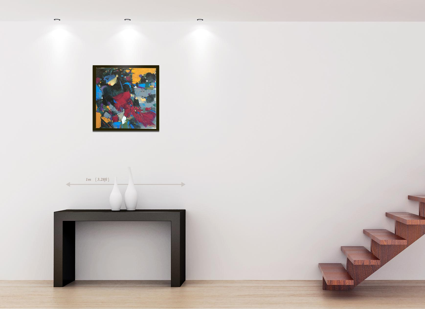 Modern painting رسم تشكيلي حديث
