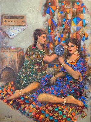 Impressionist Painting - Iraqi artist Wameedh Ryadh وميض رياض